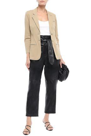Current Elliott Current/Elliott Woman Cotton-Blend Gabardine Blazer Black