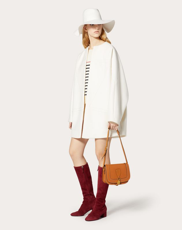 VLOGO Compact Wool Coat