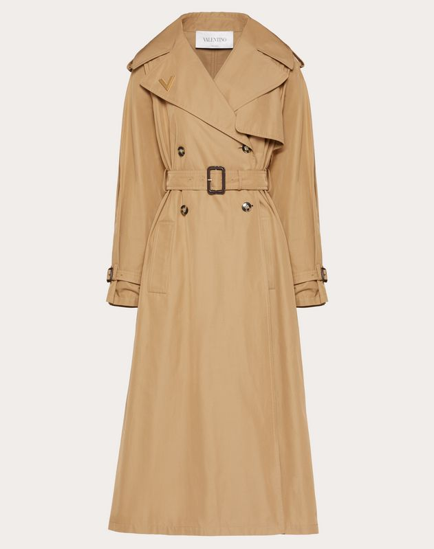 VGOLD Light Gabardine Trench