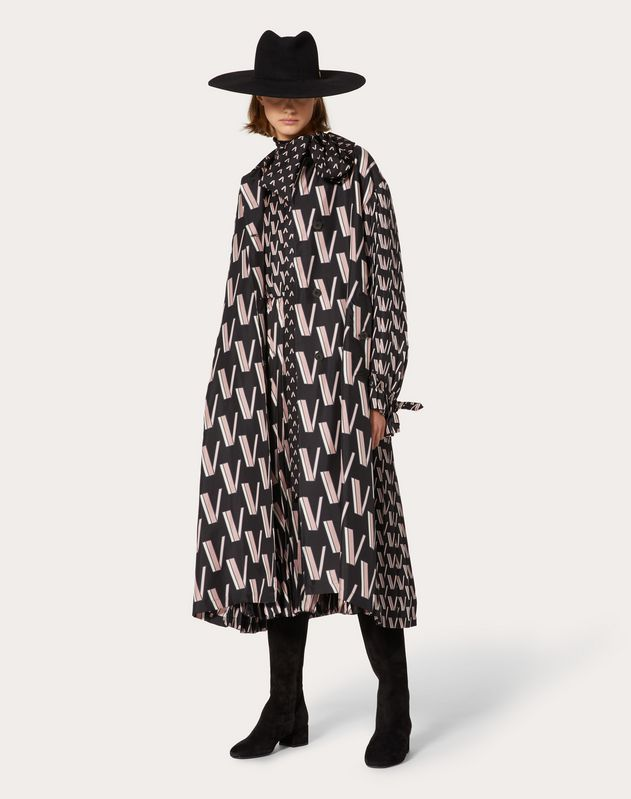 Printed Twill Trench