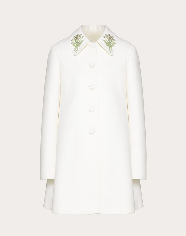 Brooch Embroidered Coat