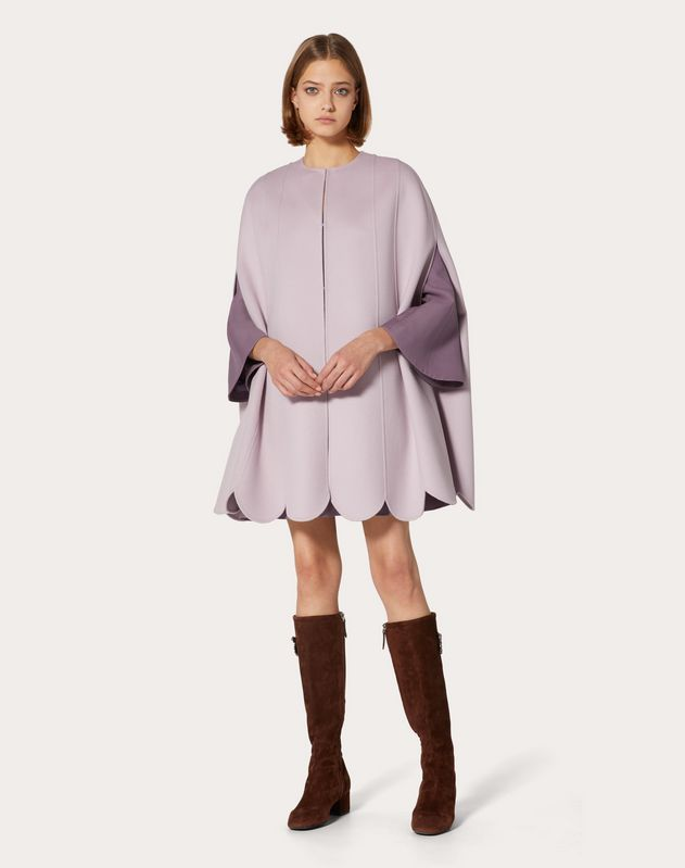 Compact Wool Cape