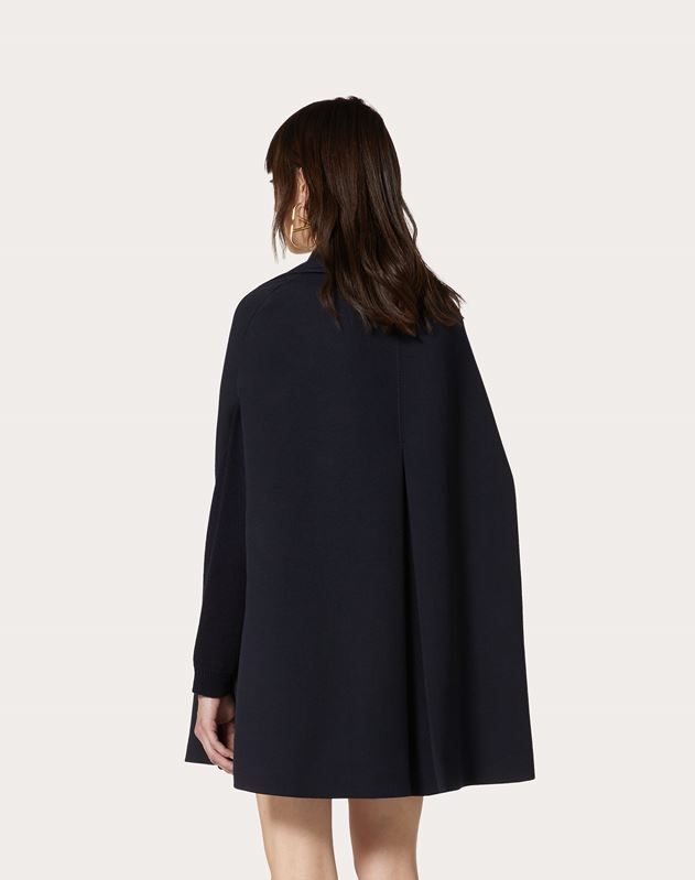 Double Worsted Wool Cape