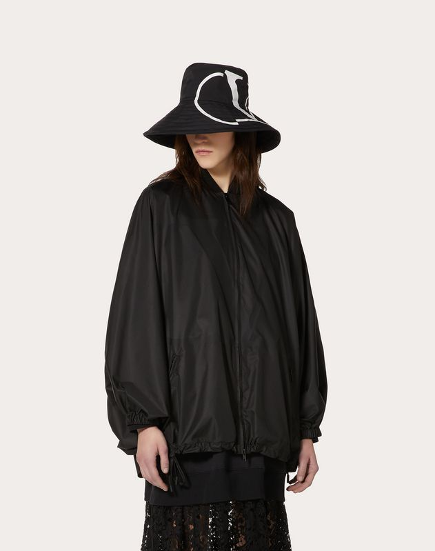 VLOGO Nylon Pea Coat