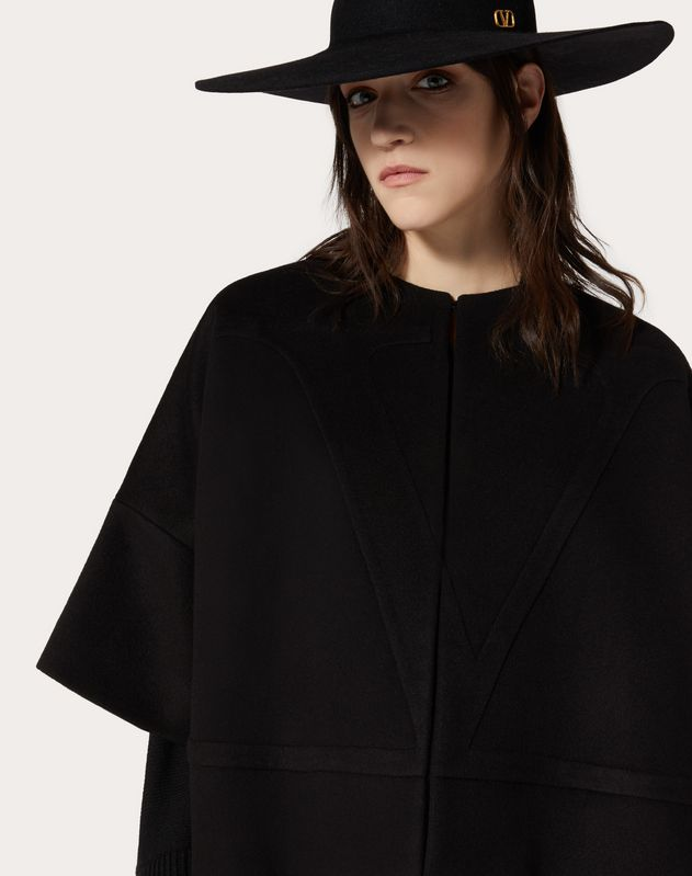 VLOGO Compact Wool Pea Coat