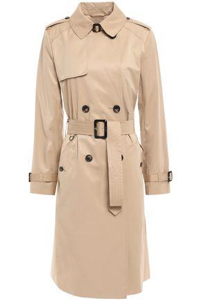 DKNY Belted cotton-blend gabardine trench coat