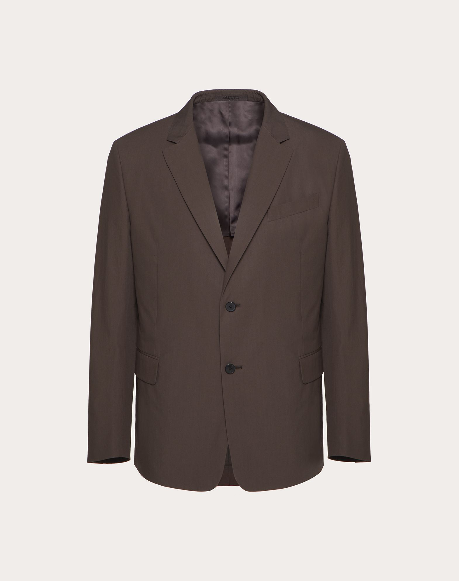 DOUBLE-BREASTED COTTON JACKET