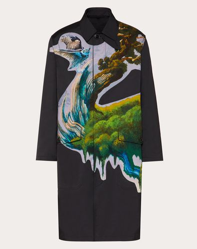 BLIND OWL EMBROIDERED COAT