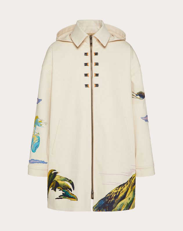 LONG FLOATING ISLAND PEA COAT