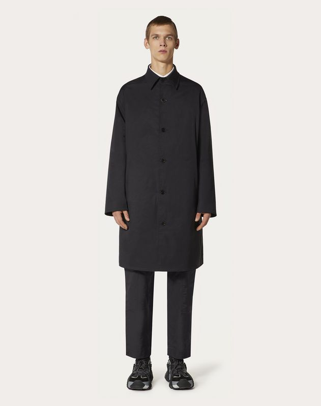 VALENTINO ON LOVE REVERSIBLE COAT
