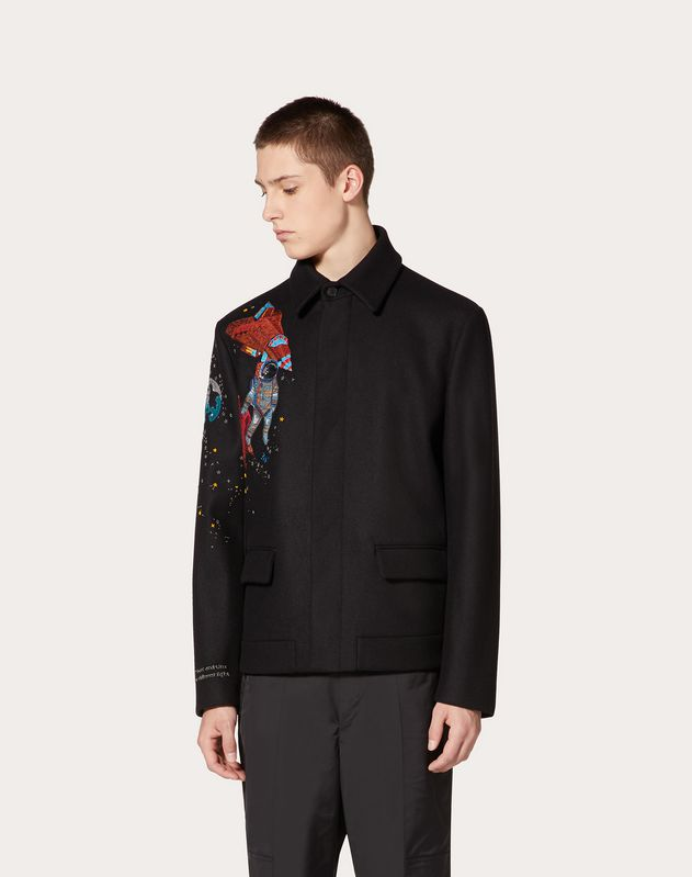 BLOUSON WITH INFINITE CITY EMBROIDERY
