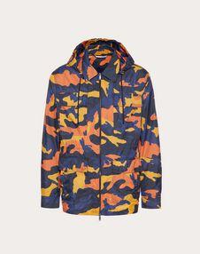 navy camo/orange