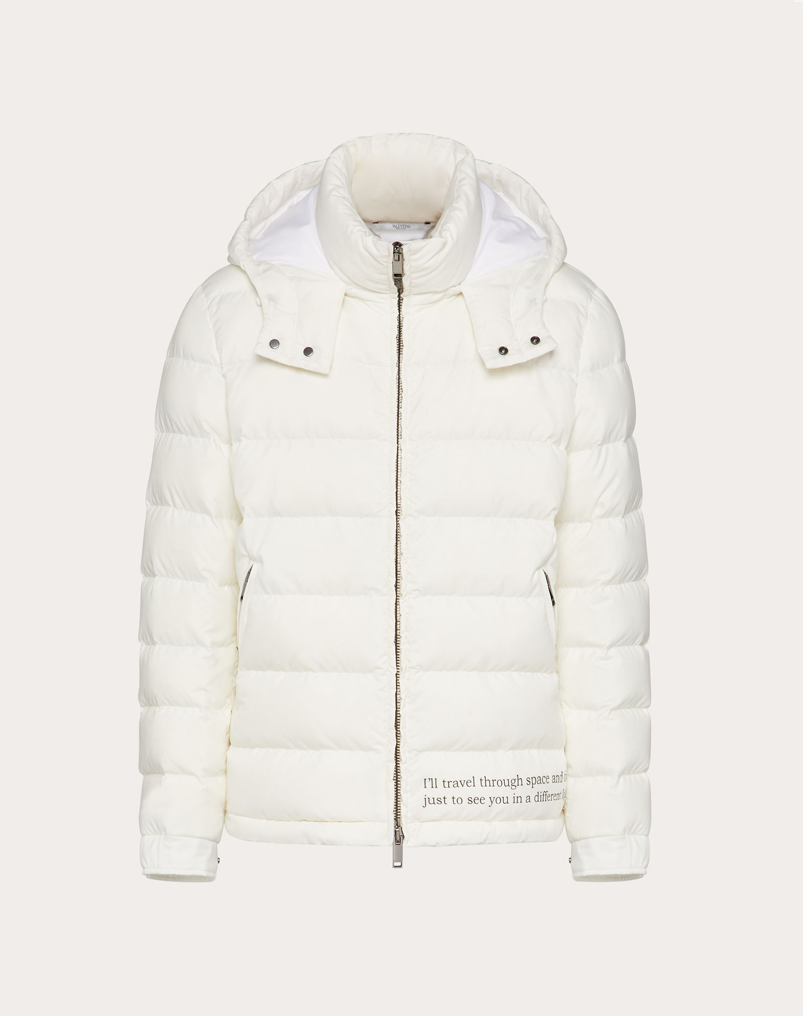 SPACELAND HOODED PUFFER COAT