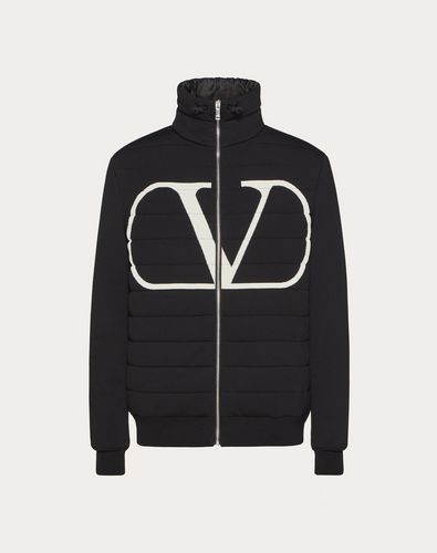 VLOGO PADDED JACKET