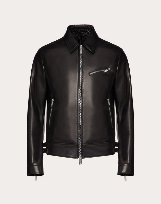 VLTN LEATHER JACKET