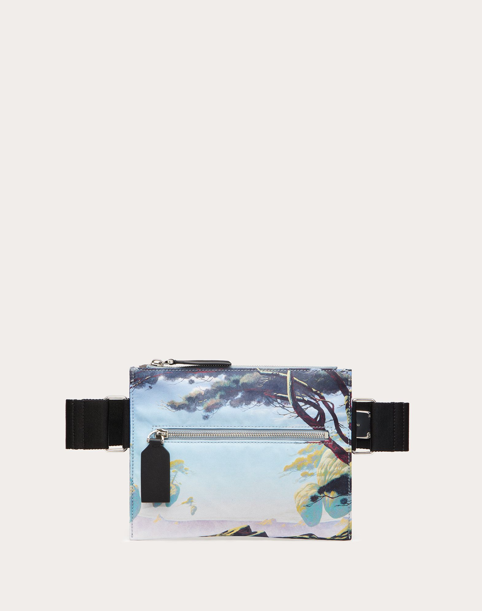 Floating Island Nylon Crossbody Bag