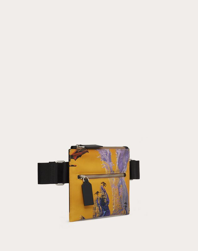 Crossbody Bag Yellow City aus Nylon