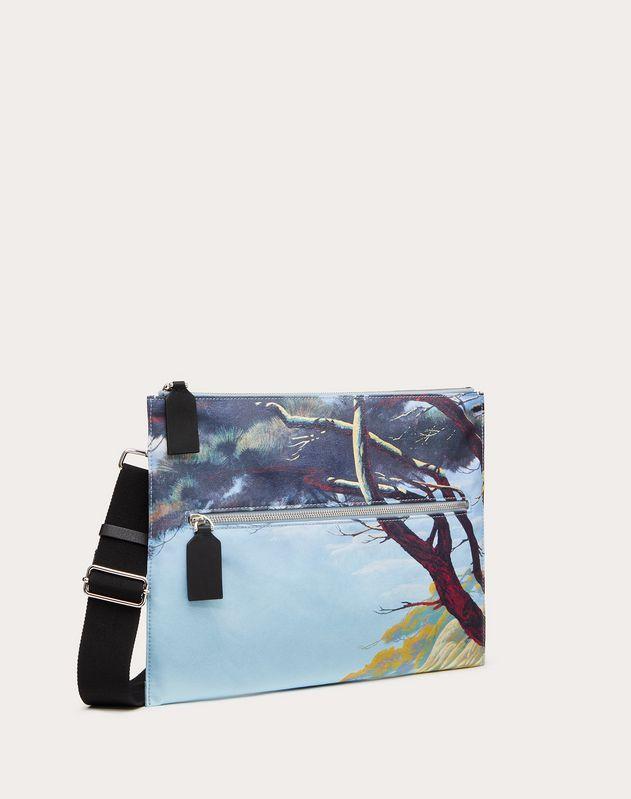 Floating Island Nylon Crossbody Bag