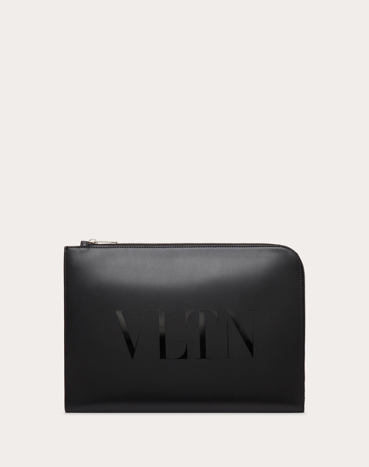 VLTN Leather Briefcase