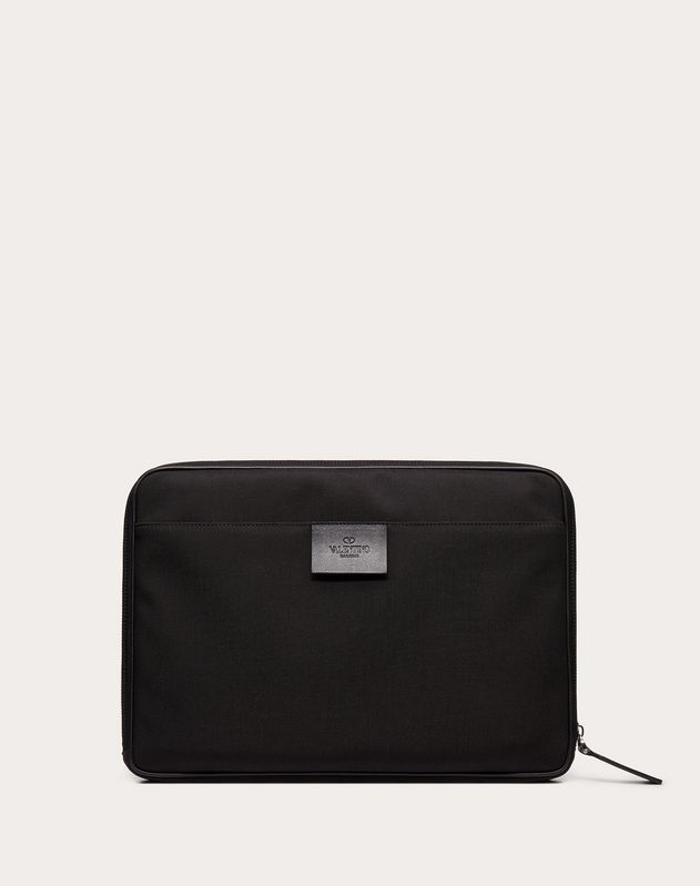 Spaceland Nylon Clutch