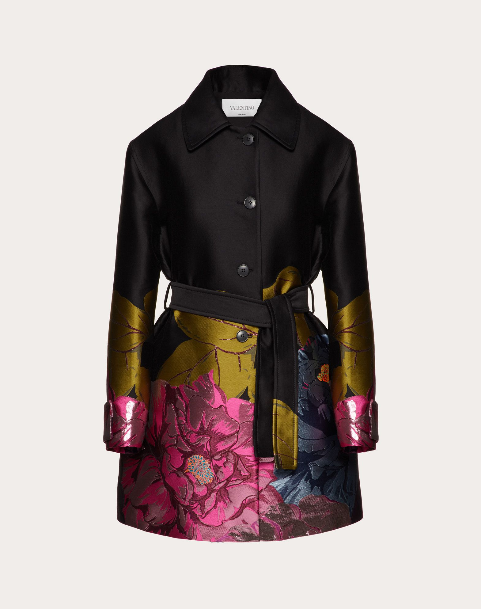 Manteau en brocart