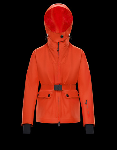 RESIA Orange Jackets & Coats