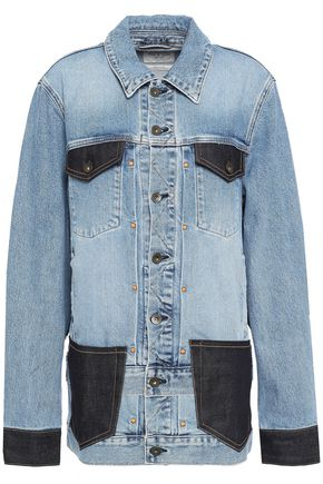 RAG & BONE Two-tone denim jacket