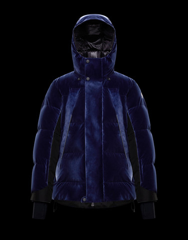 GORNER Dark blue Grenoble Jackets and Down Jackets Man