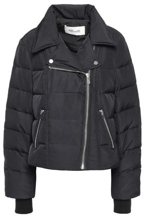 DIANE VON FURSTENBERG Quilted shell down jacket