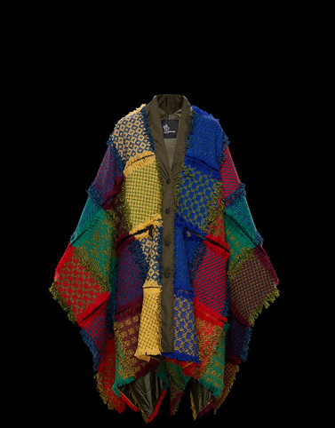 PONCHO Multicolor 3 Moncler Grenoble Woman
