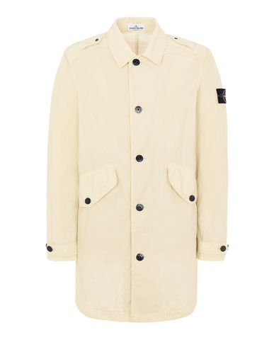 STONE ISLAND 70832 NASLAN LIGHT WATRO Mid-length jacket Man Beige EUR 461