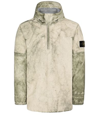 STONE ISLAND 41628 MEMBRANA + OXFORD 3L WITH DUST COLOUR FINISH ブルゾン メンズ ベージュ JPY 118000