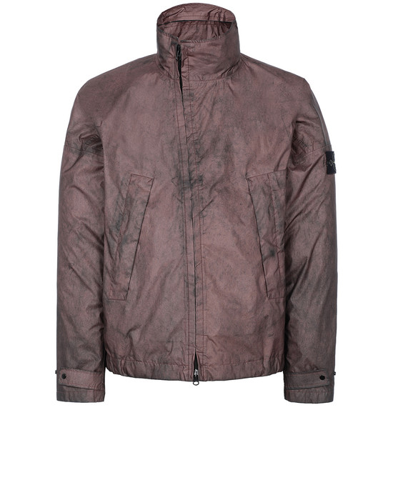 Jacket Man 41524 MEMBRANA 3L WITH DUST COLOUR FINISH Front STONE ISLAND