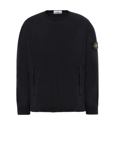 STONE ISLAND 43731 SKIN TOUCH NYLON-TC_PACKABLE ブルゾン メンズ ブラック JPY 51500