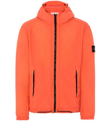 STONE ISLAND 43831 SKIN TOUCH NYLON-TC_PACKABLE Jacket Man Lobster Red EUR 420