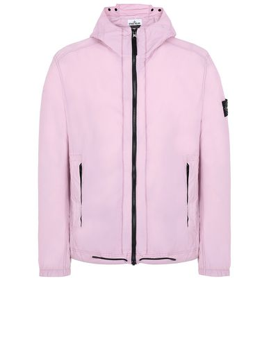 STONE ISLAND 43831 SKIN TOUCH NYLON-TC_PACKABLE Jacket Man Pink Quartz USD 412