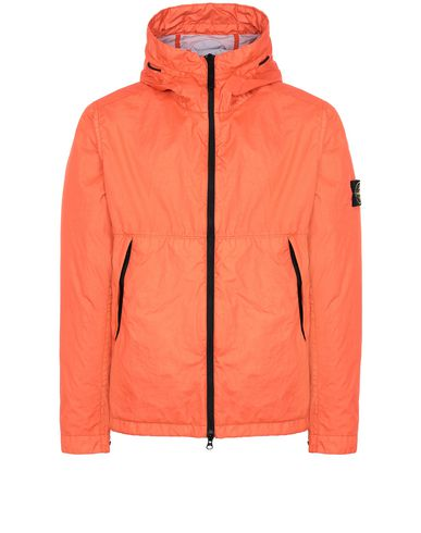 STONE ISLAND 42423 MEMBRANA 3L TC Jacket Man Lobster Red EUR 559