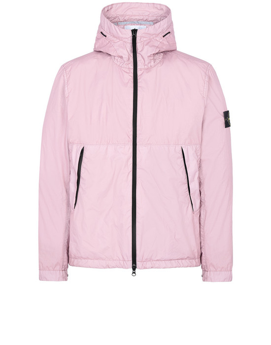 STONE ISLAND 42423 MEMBRANA 3L TC Jacket Man Pink Quartz