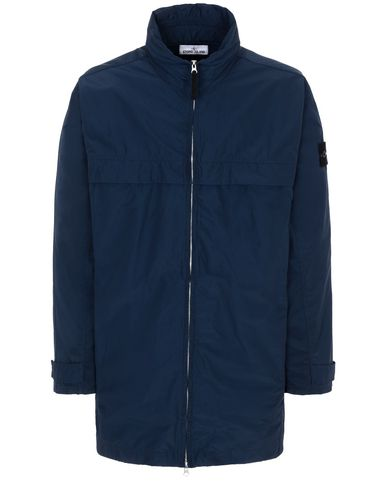 STONE ISLAND 40322 MICRO REPS Jacket Man Marine Blue EUR 490