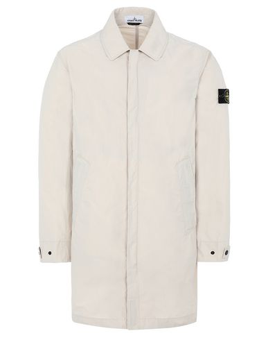 STONE ISLAND 70522 MICRO REPS Mid-length jacket Man Beige EUR 424