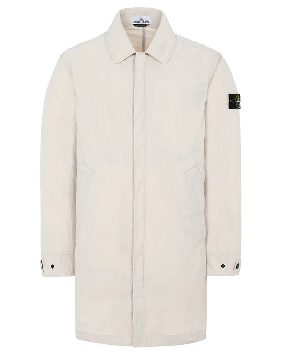 STONE ISLAND 70522 MICRO REPS Mid-length jacket Man Beige