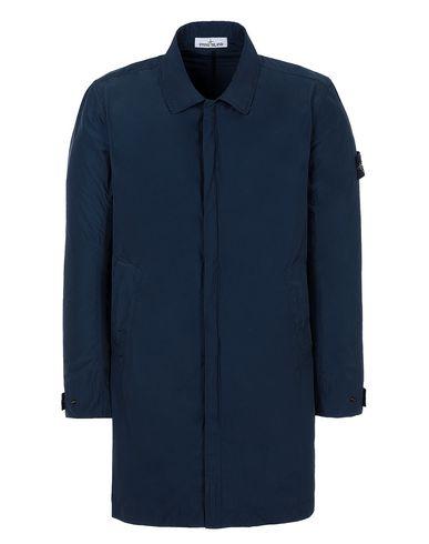 STONE ISLAND 70522 MICRO REPS Mid-length jacket Man Marine Blue EUR 645