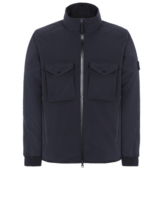 STONE ISLAND 426F1 POLIESTERE STRETCH 5 L_GHOST PIECE Jacket Man Blue