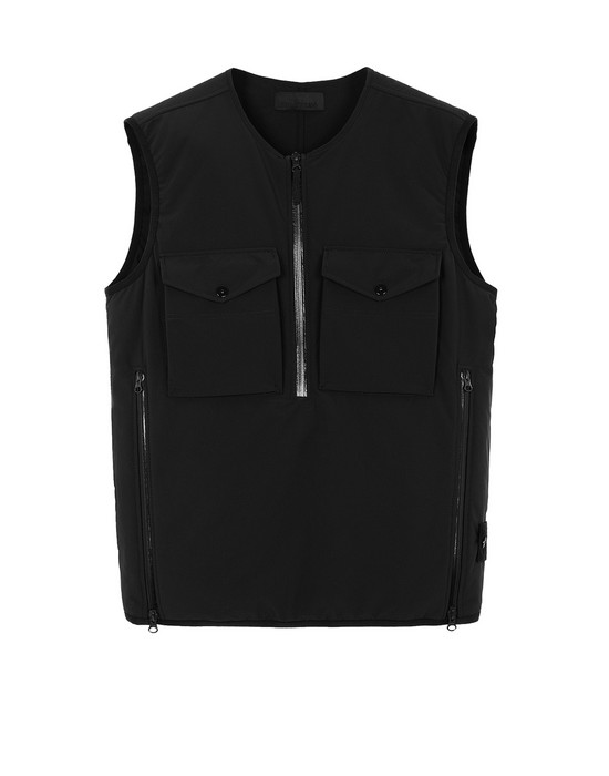 Vest Man G03F1 POLIESTERE STRETCH 5 L_GHOST PIECE Front STONE ISLAND