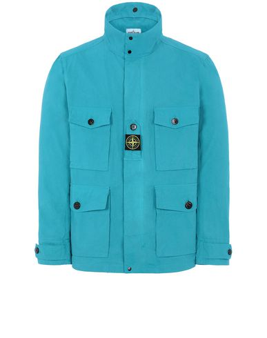 STONE ISLAND 41921 COTTON / CORDURA® Jacket Man Turquoise USD 517