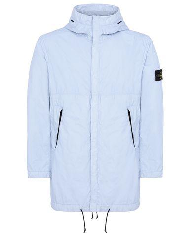 STONE ISLAND 70323 MEMBRANA 3L TC Mid-length jacket Man Sky Blue USD 461