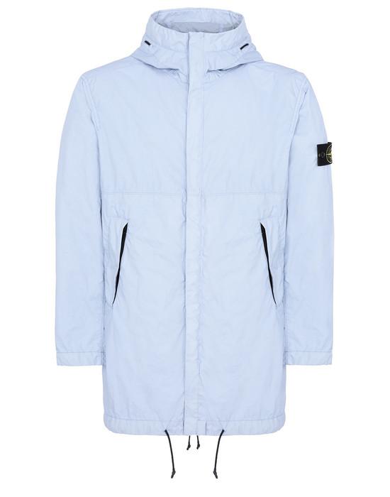 STONE ISLAND 70323 MEMBRANA 3L TC Mid-length jacket Man Sky Blue