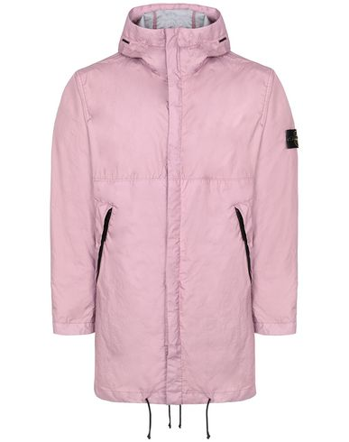 STONE ISLAND 70323 MEMBRANA 3L TC Mid-length jacket Man Pink Quartz USD 498
