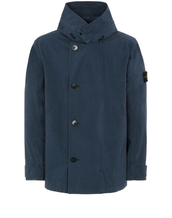 STONE ISLAND 42021 COTTON / CORDURA® Jacket Man Marine Blue