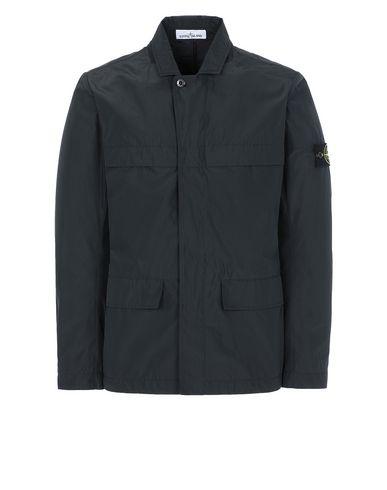 STONE ISLAND A0122 MICRO REPS Blazer Man Black EUR 470